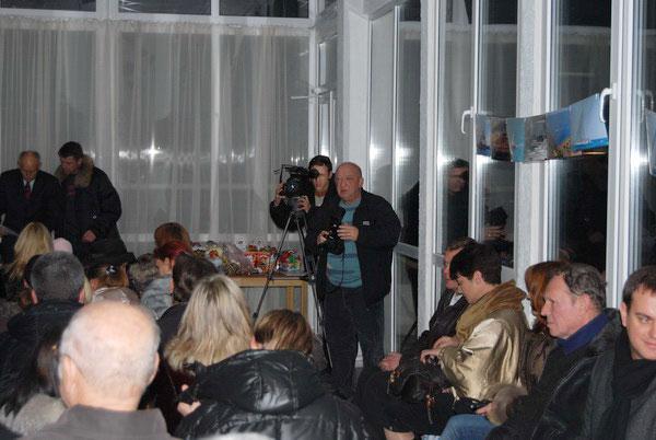 Торжественное закрытие парусного сезона 19.12.2008
